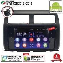 PERODUA MYVI ICON 2015 - 2016 7' ANDROID Double Din Mirror Link Player