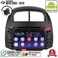 PERODUA MYVI 2005-10 8' ANDROID Double Din GPS DVD Mirror Link Player