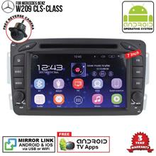 MERCEDES W209 CLK-Class 7' ANDROID Double Din GPS Mirror Link Player