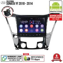 HYUNDAI SONATA YF 2010-14 10.1' ANDROID Double Din Mirror Link Player