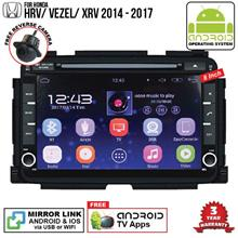 HONDA HRV 2014 - 2017 8' ANDROID Double Din GPS DVD Mirror Link Player