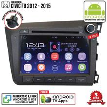 HONDA CIVIC FB 12-15 8' ANDROID Double Din GPS DVD Mirror Link Player