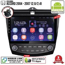 HONDA ACCORD 2004-07 2.4 10' ANDROID Double Din GPS Mirror Link Player