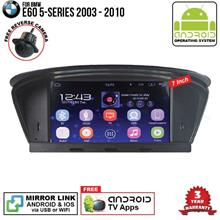 BMW E60	2003 - 2010 7' ANDROID Double Din GPS DVD Mirror Link Player