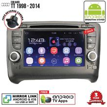 AUDI TT 1998 - 2014 7' ANDROID Double Din GPS DVD Mirror Link Player