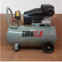 Eurox 3hp 60L 8bar V-Twin Air Compressor EAX-8060 IDB0248