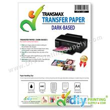 Transfer Paper (Dark-Based) (A4) (Transmax) (10 sheets/pkt)