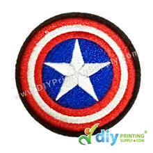 Garment Material (Badge) (56mm) [Captain America]