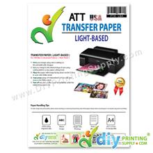 Transfer Paper (Light-Based) (A4) (ATT) (10 sheets/pkt) [Hot Peel]
