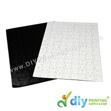 Jigsaw Puzzle (Rectangle) (Magnetic) (White) (28 x 19cm)