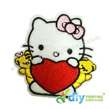 Garment Material (Hello Kitty) (75 x 84mm) [Love]