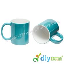 Magic Mug (Green) (11oz) with Gift Box