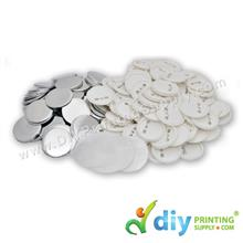 Button Badge Pin with Mylar (75mm) (100 ? pcs/pkt)