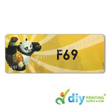 Name Sticker (Large) (500pcs) (5m) [Kungfu Panda]
