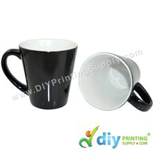 Magic Mug (Black) (Cone) (12oz) with White Box