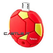 APACER Flash Drive OTG USB2.0 AH174 8GB RED
