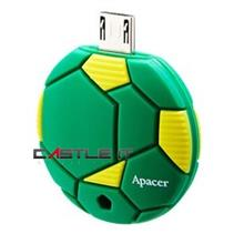 APACER Flash Drive OTG USB2.0 AH174 32GB GREEN