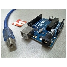 ARDUINO UNO R3 ATmega 328P Development Board with USB Cable
