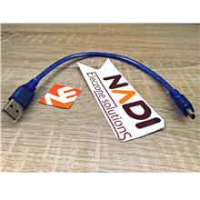USB 2.0 Type A To Mini B Cable (310mm length) Arduino Nano