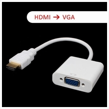 HDMI to VGA with Audio Output Converter CABLE Adapter