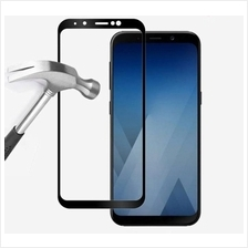 PROMOTION Full Cover Tempered Glass Samsung Galaxy A8 2018 Plus Cable