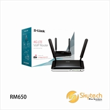D-LINK 3G/4G LTE WIRELESS N ROUTER BUILT IN SIM CARD SLOT (DWR-921)