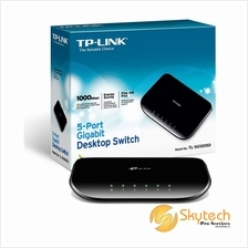 TP-LINK 5 PORT GIGABIT SWITCH (TL-SG1005D)