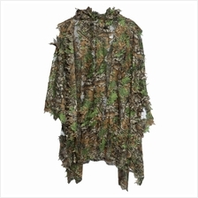 3D CAMO BIONIC LEAF CAMOUFLAGE JUNGLE HUNTING GHILLIE SUIT SET WOODLAN