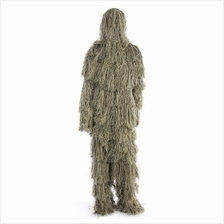 CAMOUFLAGE JUNGLE HUNTING GHILLIE SUIT SET WOODLAND SNIPER BIRDWATCHIN