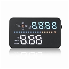 A3 3.5 INCH CAR HUD HEAD UP DISPLAY OBD II INTERFACE REAL-TIME DYNAMIC