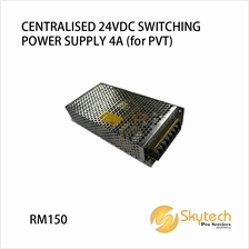 CENTRALISED 24VDC SWITCHING POWER SUPPLY 4A (for PVT)