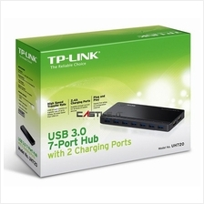 TP-LINK USB HUB USB3.0 7-PORTS with 2 CHARGING PORTS (UH720) UH-720