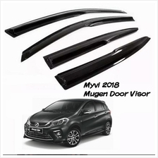 Perodua Myvi 2018 MUGEN Anti UV Light Door Visor