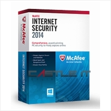 Mcafee Software Internet Security 2014 (3 User)