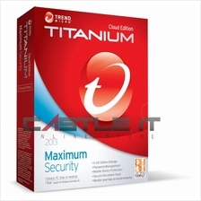 Trend Micro Software Titanuim Maximum Security 2014 (1 USER) RETAIL