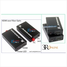 HDMI extender over fiber optic cable Full HD 1080P CCTV video Single m