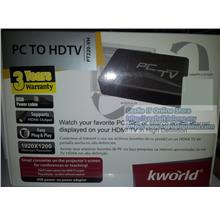 KWORLD TV Box PC to HDTV (KW-PT220) (VGA IN HDMI OUT)
