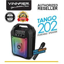 Vinnfier Flip Gear Tango 202 Portable Bluetooth Speaker