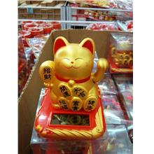 CNY chinese new year Solar zao cai mao fortune cat fortune kitty