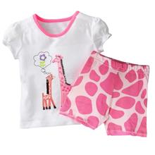 Giraffe Stylish Kids Girl Homewear