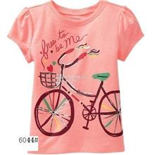 Girl Short Sleeves T-shirt