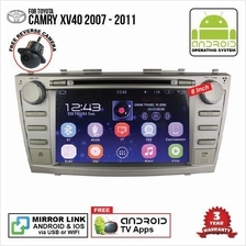 TOYOTA CAMRY XV40 2007-12 8' ANDROID Double Din GPS Mirror Link Player