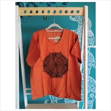 MANDALA Printed Cotton Shirt