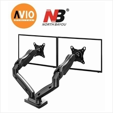 NB F160 17 to 27 inch Double monitor Arm mount Bracket