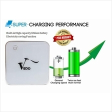 Genuine Vedo 8400mah Powerbank Power bank Smartphone 1 Year Warranty