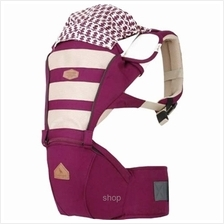 i-angel Mesh Hip Seat and Carrier - Plum)