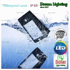 Dream Lighting / Solar Powered / 16 Bright LEDs / Outdoor Waterproof /