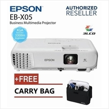 Epson EB-X05 XGA Projector 3300 Lumens For Office Business