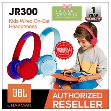 JBL JR300 Children Kids Junior On-Ear Wired Headphones Safe Sound