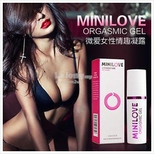 Minilove Women Orgasmic Sex Play Gel 10ml Gel Perangsang Wanita